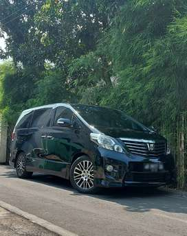 NEW ALPHARD S 2.4 platinum II,Tahun 2010 new model
