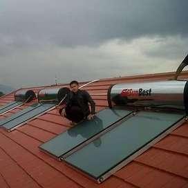 pemanas air tenaga surya,solarglass,wika,sunbest,solahart,water heater