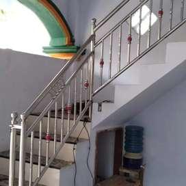 Railing tangga stenlis 1524