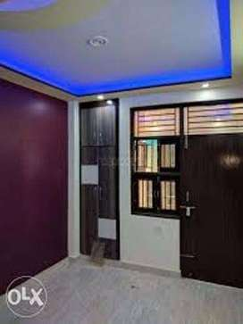 2 bhk flat in uttam nagar  with  all facility  with loan facility 90%