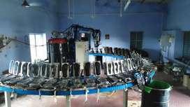 PU chappal machinery for sale