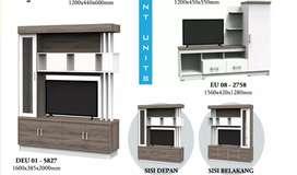 Skak ruangan /lemari hias/lemari TVDEU 01-5827