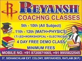 REYANSH COACHING CLASS