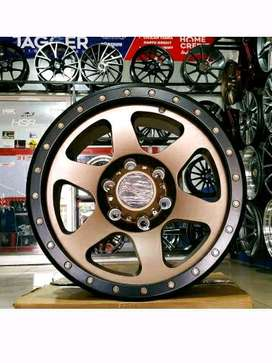 velg mobil Ring 17 racing Pajero Fortuner Everest cicilan 0%