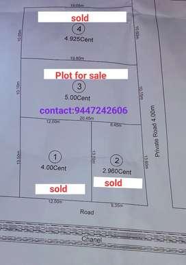 Land for sale at Trivandrum, Pravachambalam