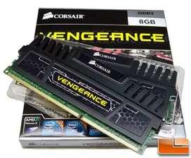 Corsair Vengeance 8GB DDR3 1600 Mhz