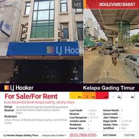 Ruko Boulevard Barat Kelapa Gading, Jakarta Utara