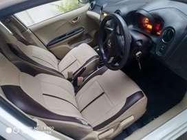 Honda Brio SMT white 2014