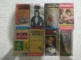 Paket Novel James Bond 007 - Kondisi Apa Adanya.