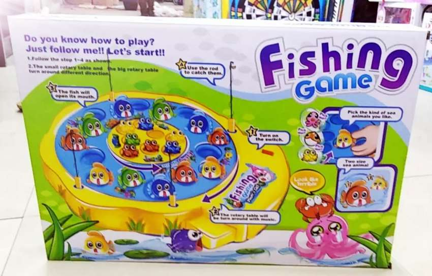 Fishing game for kids early learnings 0