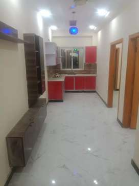 H-13 Islamabad 2 bed 2 bath T.v lounge kitchen appartment