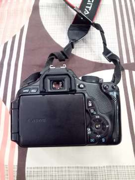 Canon 600d with 18-55mm Stm Lens