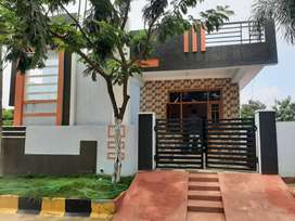 167yards 2bhk independent house available in kundanpally