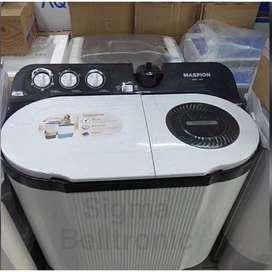Mesin cuci 2 tabung MASPION 9 kg MMC-1291