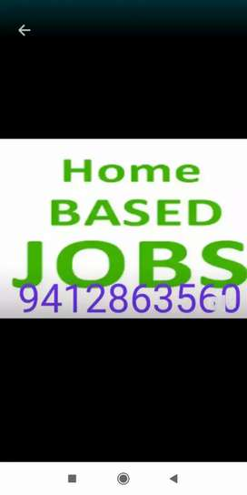 We are offfring home based job for all