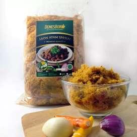 Abon ayam asli demesbon 250gr halal MUI original pedas AB163