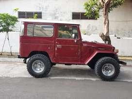 Dijual Hardtop BJ40 Original Diesel Full Option 4x4 Th.1984