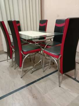 Dinning table and dinning chairs