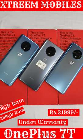 OnePlus 7T..8/256..Under Warranty..All Color Available..