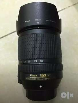 Only 10month age nikon 18-140 VR lence,Warrenty available ..