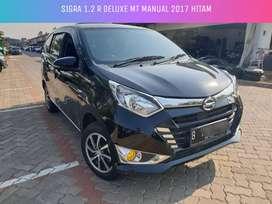 Sigra 1.2 R Deluxe MT Manual 2017 Hitam Murah Cash 107juta Nego