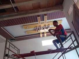 Plafon PVC murah berkualitas area salatiga