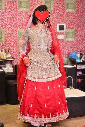 Bridal wear for Barat