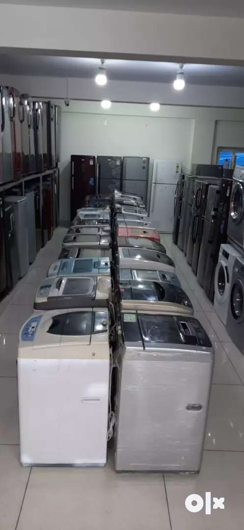 BUHV Used electronics @just 11500for washing machine and refrigerators