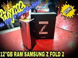 TRYME 12GB RAM SAMSUNG Z FOLD 2 Full Kit Box Brand New Conditions