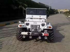 Full modified Jeep ready your booking