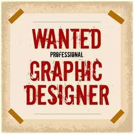 Urgent required professional graphic designer