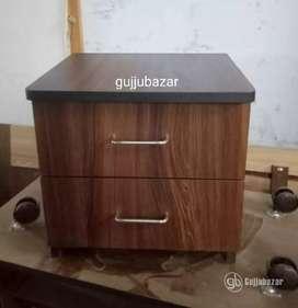 Bed side table 2 drawer model 707