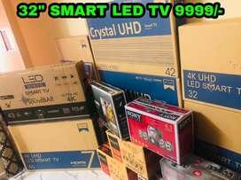 """NEW MODEL 2021 * 32"""" FRAMLESS 4K LED TV FREE 4.1 HOMETHEATRE JUST"""
