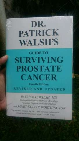 Buku Impor Guide to Surviving Prostate Cancer by Dr Patrick Walsh's