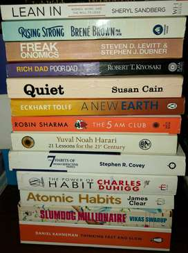 All 13 Best Seller Books for PKR 2600 plus whatever delivery charges