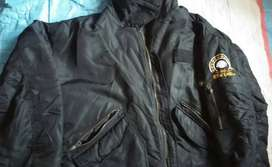 Ready FreeKirim2 WTS Jaket import tebal size besar XXL black bhan enak