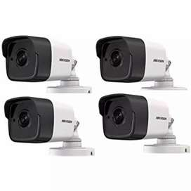 2 MP 2CCTV cameras with installation and Maintenance