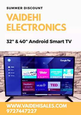 Non Smart & Smart Android LED TV - Summer Sale || COD & Store Pickup