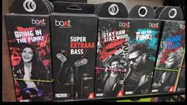 BoAt wired  earphones available  in best offer price with bill