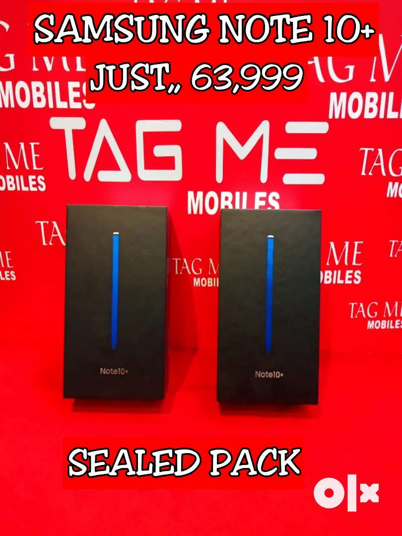 TAG ME NOTE 10+ SAMSUNG SEALED PACK 0