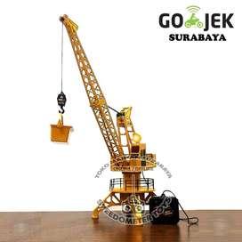 RC Alat Berat Tower Crane | Mainan Anak Grosir Surabaya