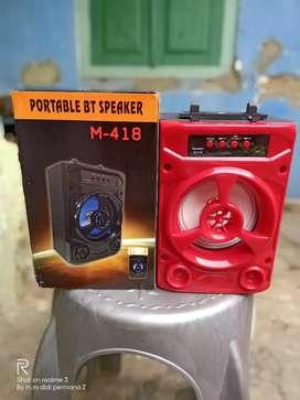 Speaker bluetooth m-418 4 inch super bass