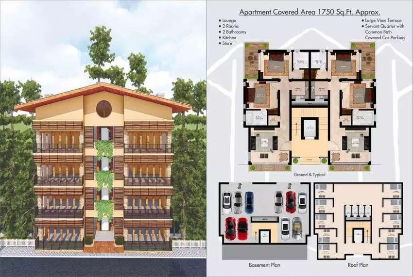 Luxury appartments  and resorts 0