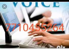 Excellent typing work get income weekly or month ly