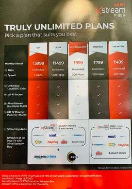 Airtel Xstrem Fiber Broadband