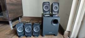 Creative music system on sale for 1500/-