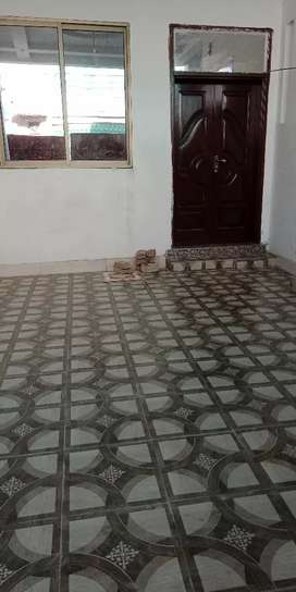 A beautiful house with tiles floor