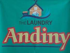 Laundry  Andiny /SLB RimbaAsampakaianmu,or naked temorrow