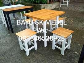 Set meja kursi cafe termurah