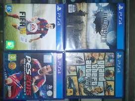 Final Fantasy XV, GTA V, PES 2015, FIFA 15
